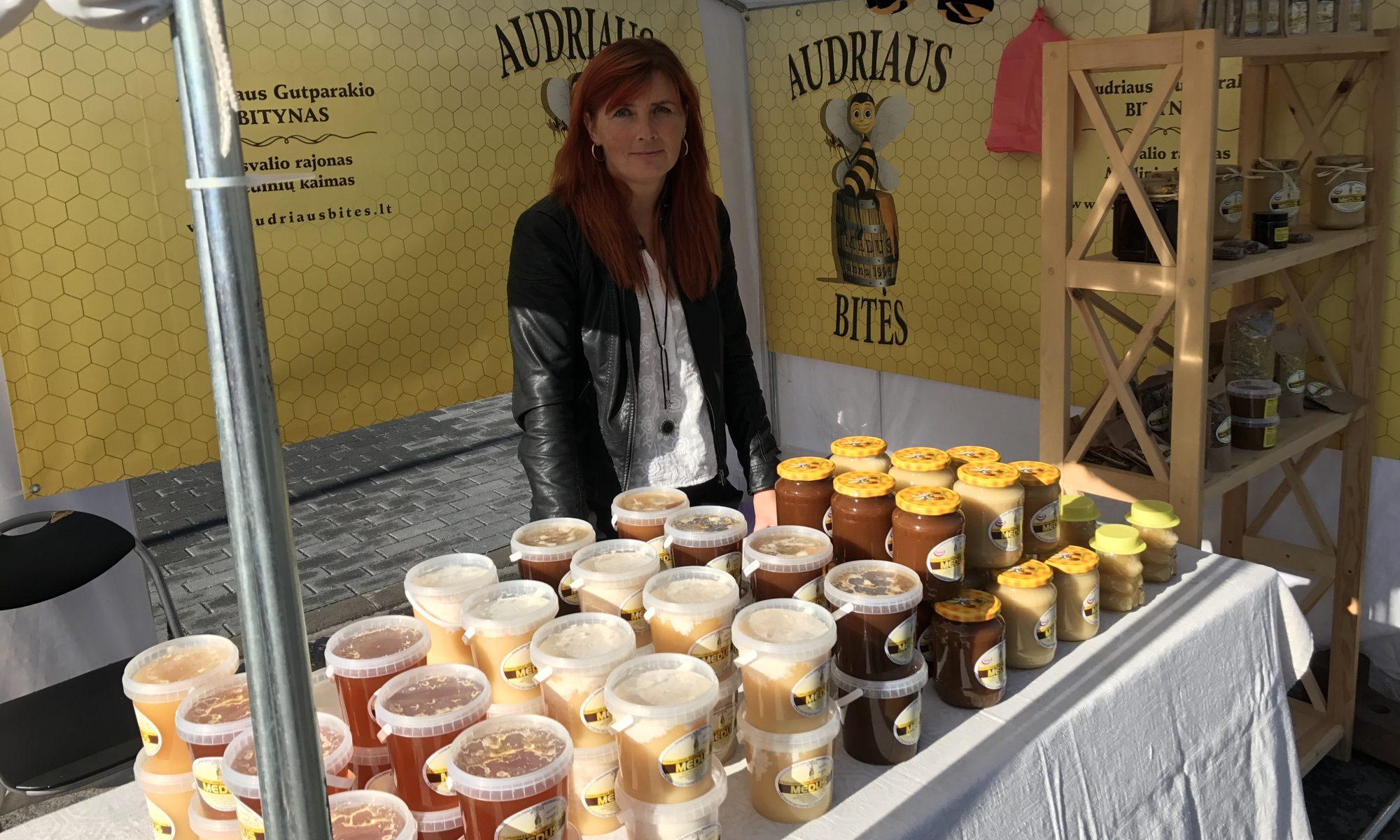 Audriaus Bitės - Bičių produktai
